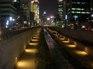 夜の清渓川