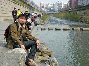 昼の清渓川